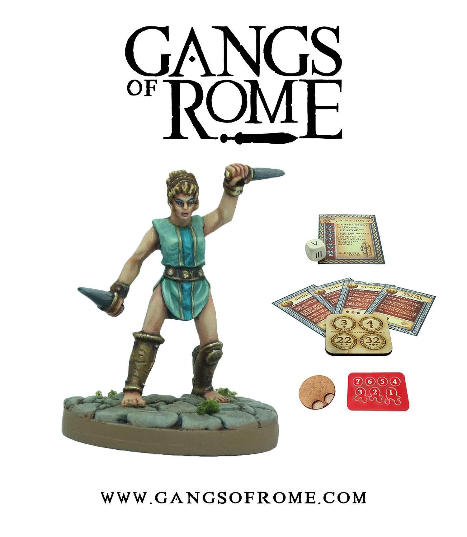 Fighter Nonus, Gangs of Rome