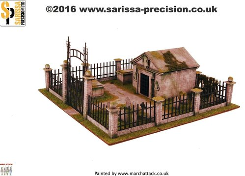 Crypt & Graveyard Set, Sarissa Precision