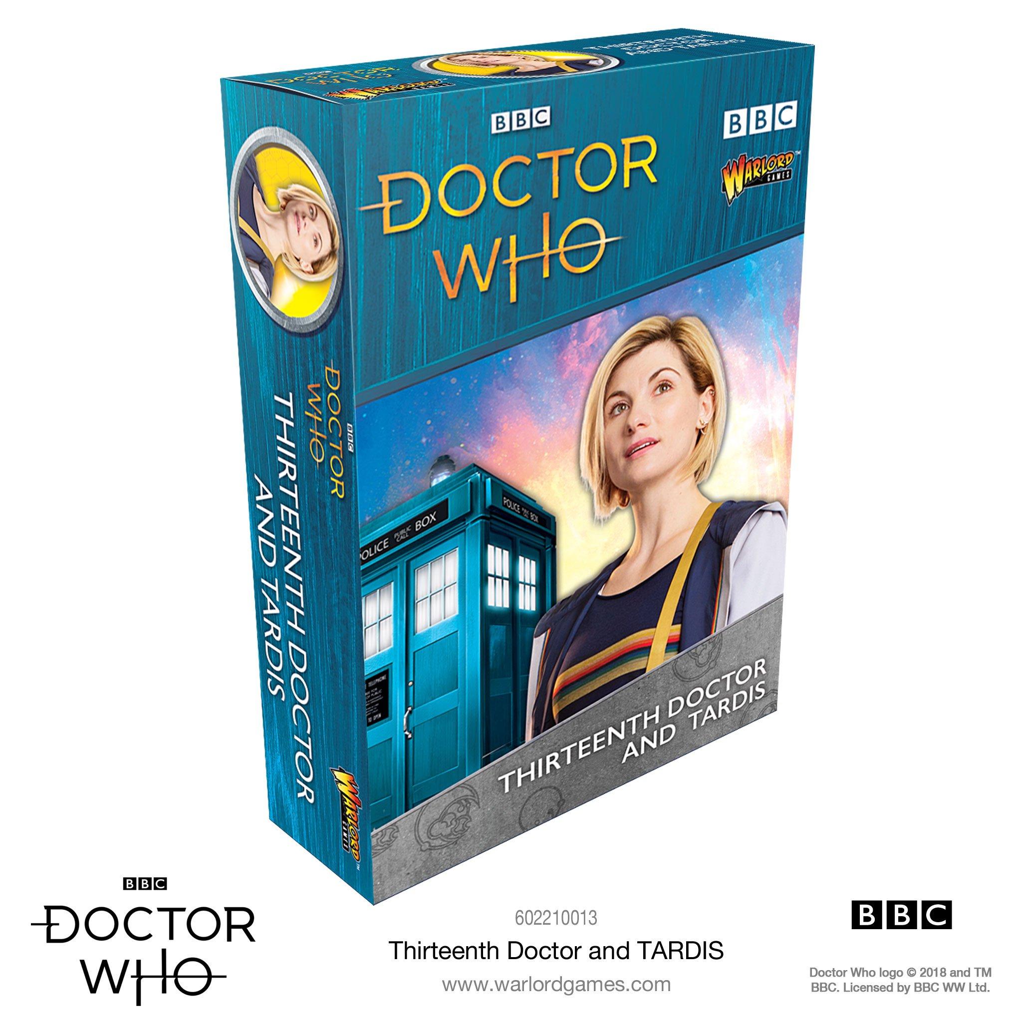 Thirteenth Doctor & Tardis