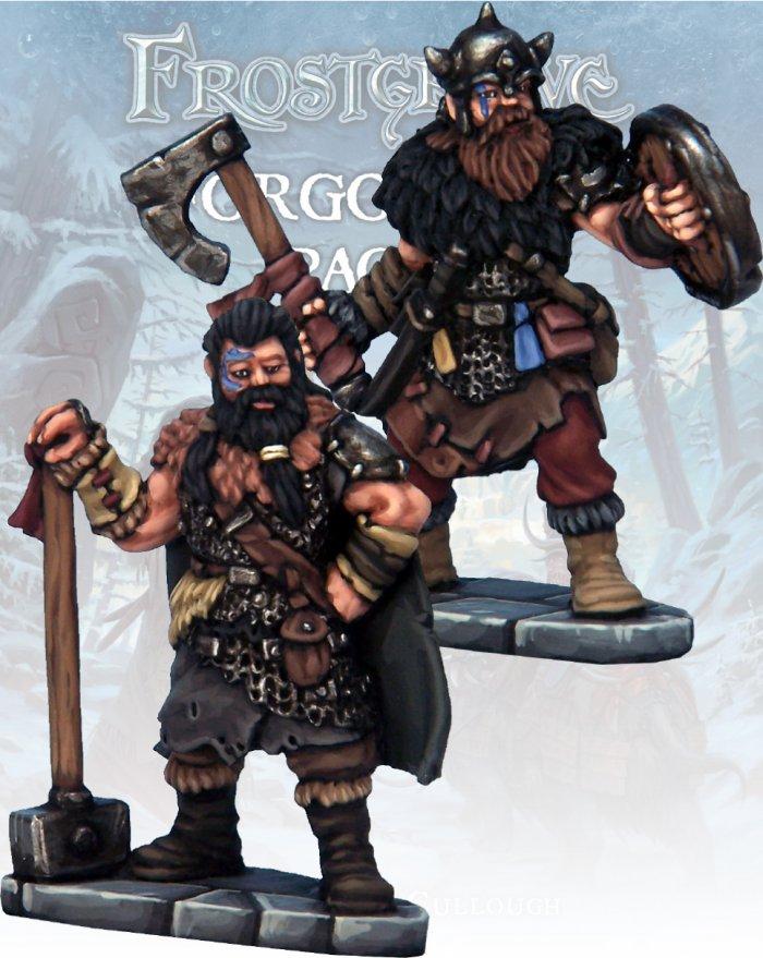 Barbarian Knight & Templar, Frostgrave