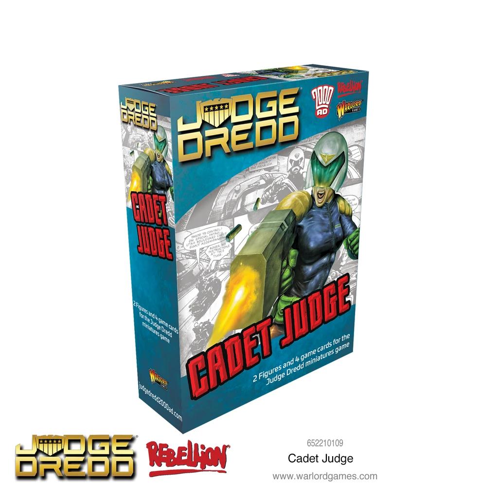 Cadet Judge, Judge Dredd