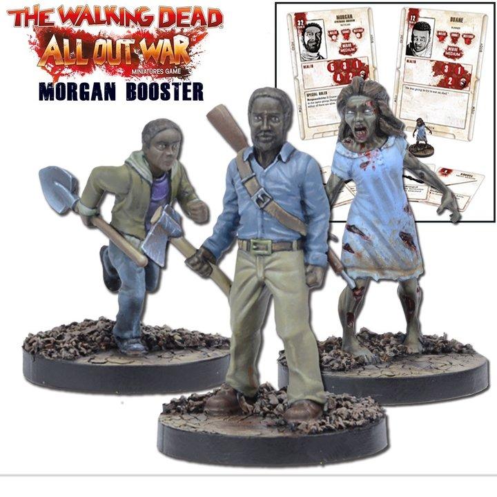 Morgan Booster The Walking Dead