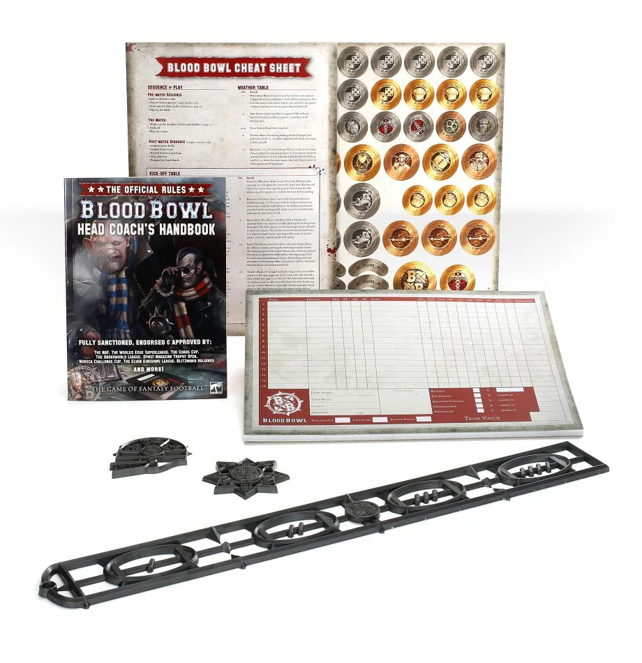 Head Coach's Rules & Accessories Pack, Blood Bowl