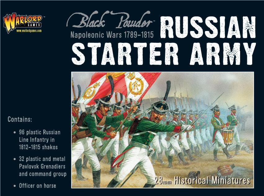 Napoleonic Russian Starter Army, NW