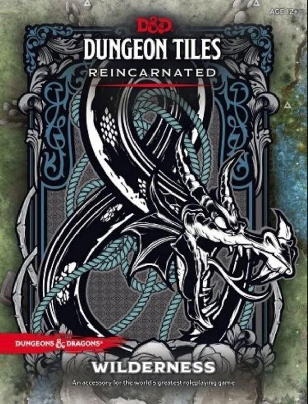 Wilderness Dungeon Tiles D&D