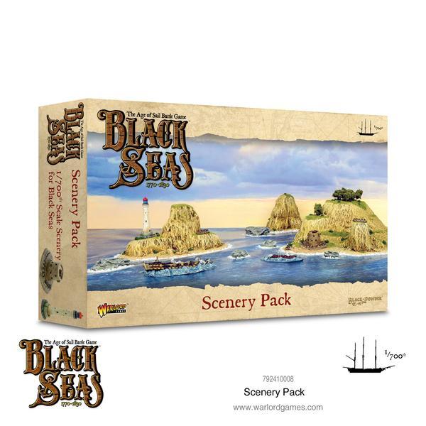 Scenery Pack, Black Seas