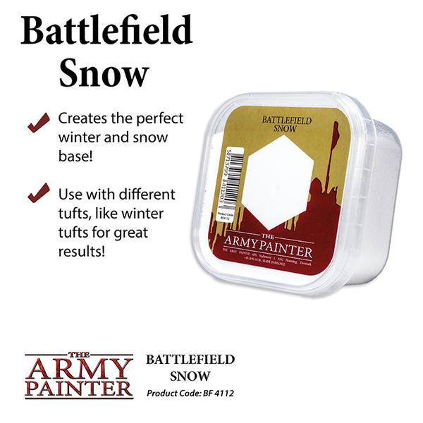 Battlefield Snow, Army Painter