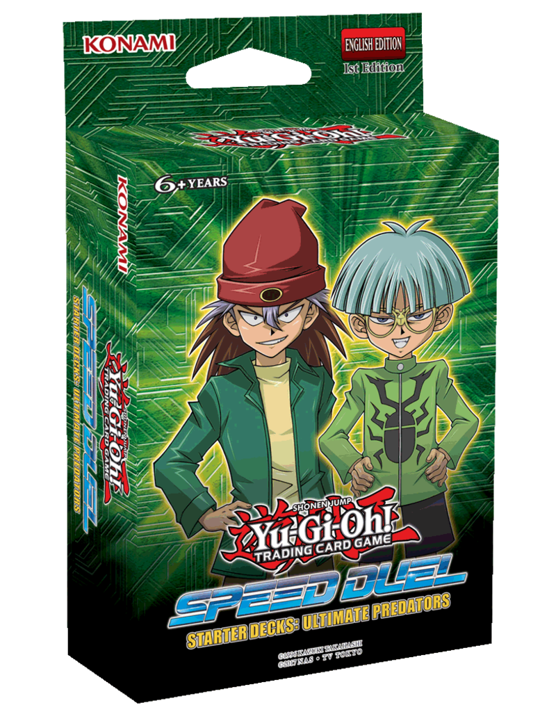 Speed Duel Ultimate Predators Starter Deck, Yu-Gi-Oh!