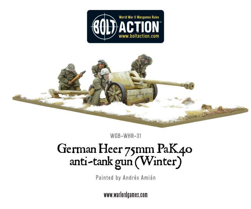 Heer 75mm Pak 40 Anti-Tank Gun (Winter)