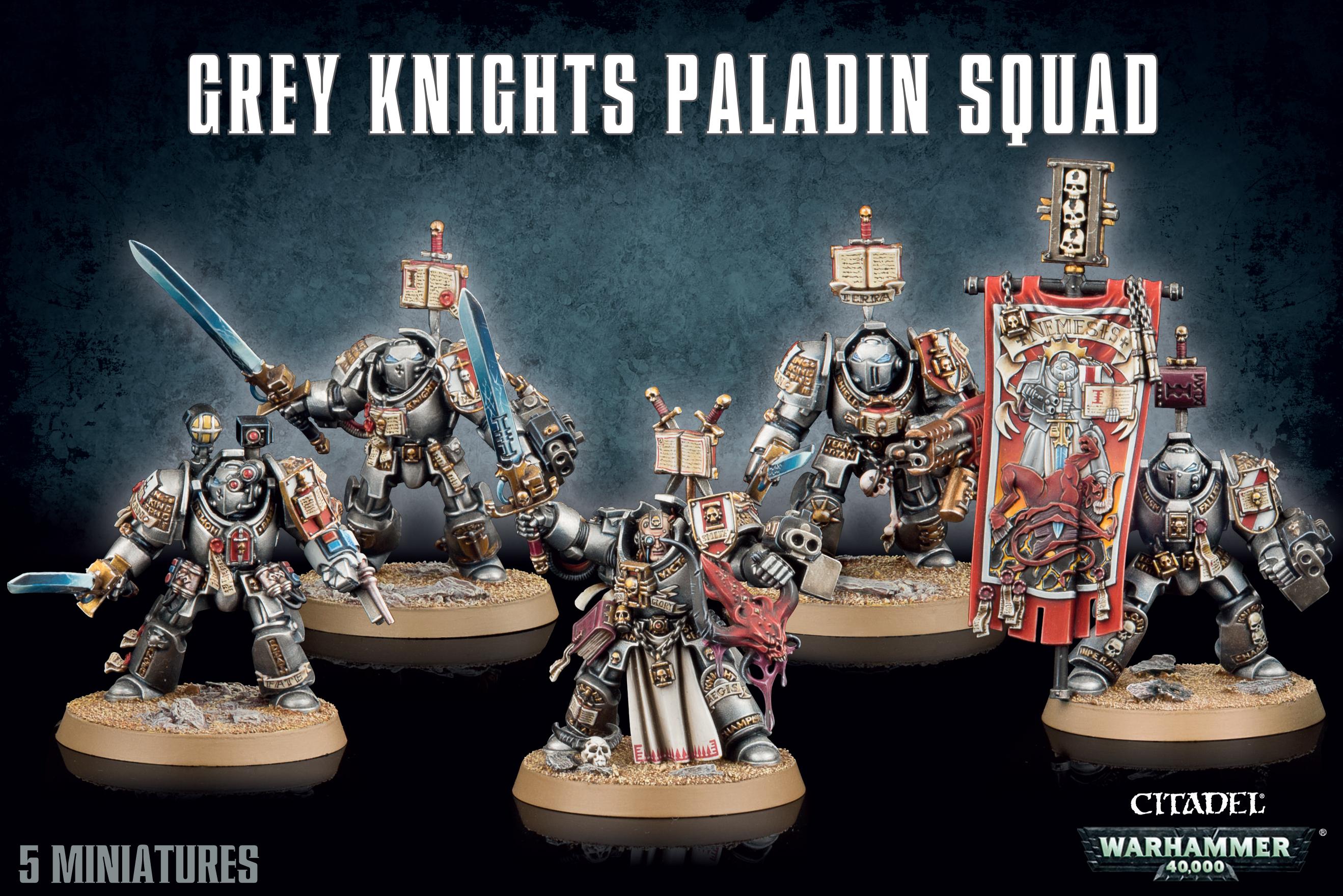 Grey Knights Paladin Squad, Imperials
