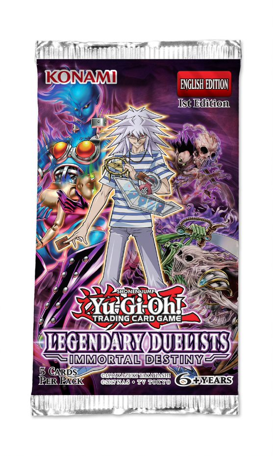 Immortal Destiny, Yu-Gi-Oh! Legendary Duelists