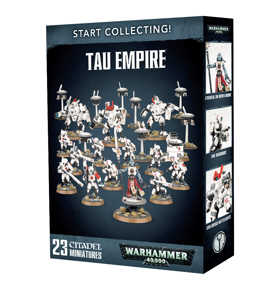 Tau Empire, Start Collecting