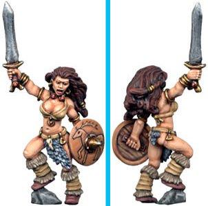 Barbarian Queen, Copplestone Castings