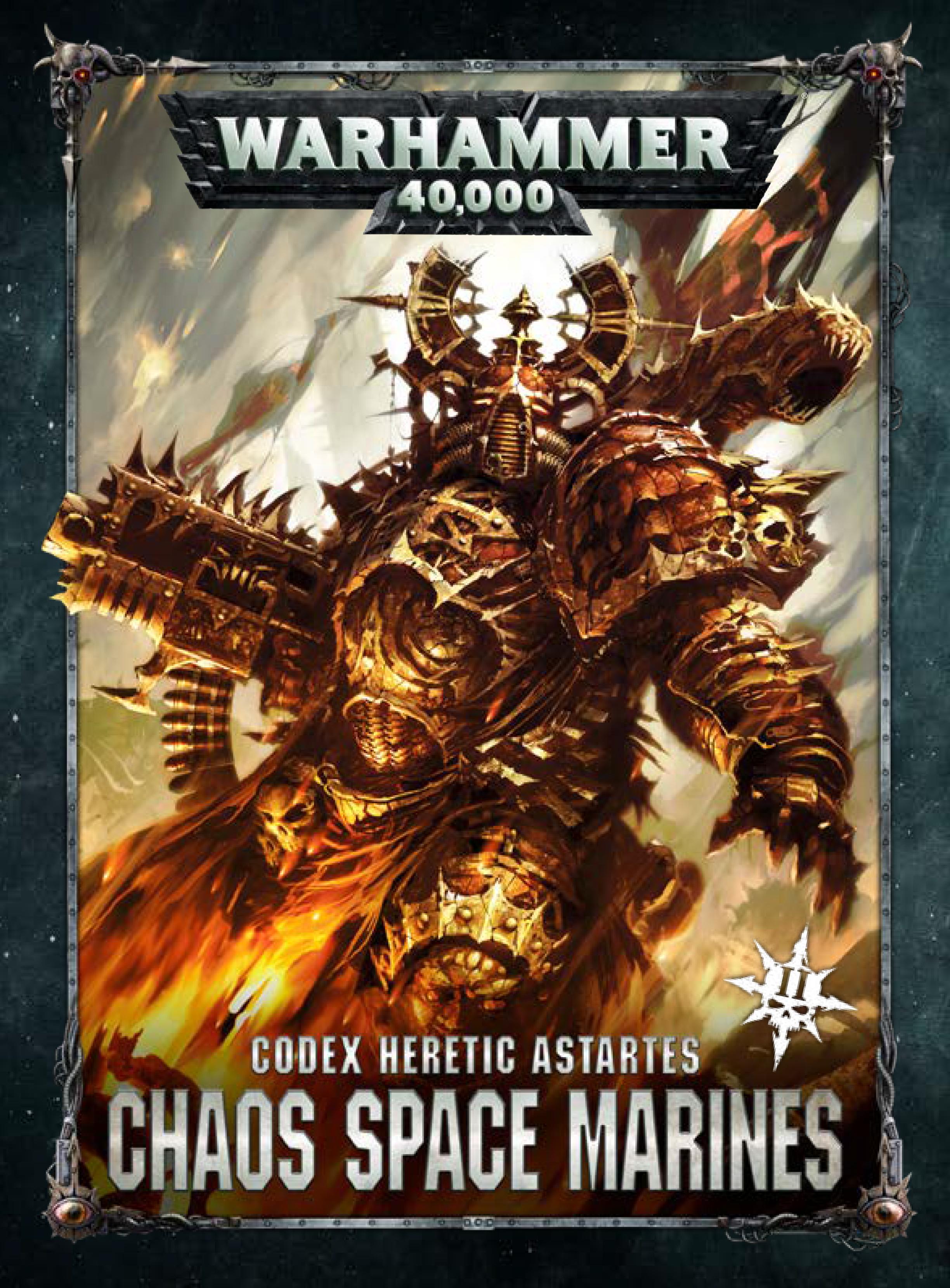Chaos Space Marine (New) Codex v2
