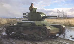 T-26 Infantry Light Tank, Rubicon Models