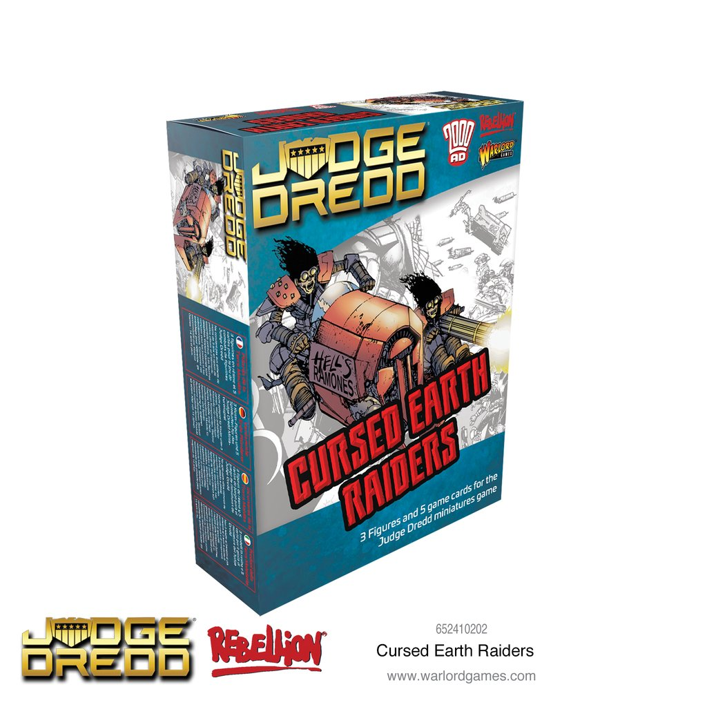 Cursed Earth Raiders, Judge Dredd