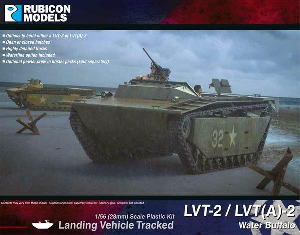 LVT-2 / LVT(A)-2 Water Buffalo, Rubicon Models