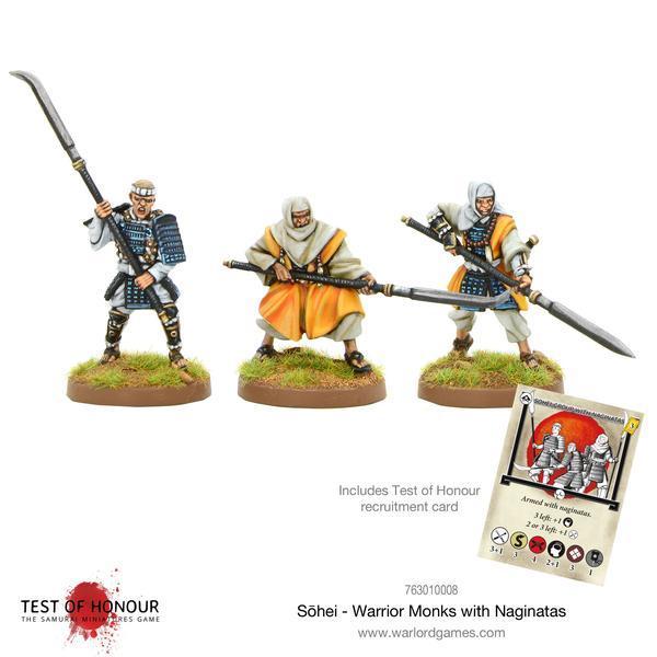 Sohei - Warrior Monks with Naginata, Test of Honour