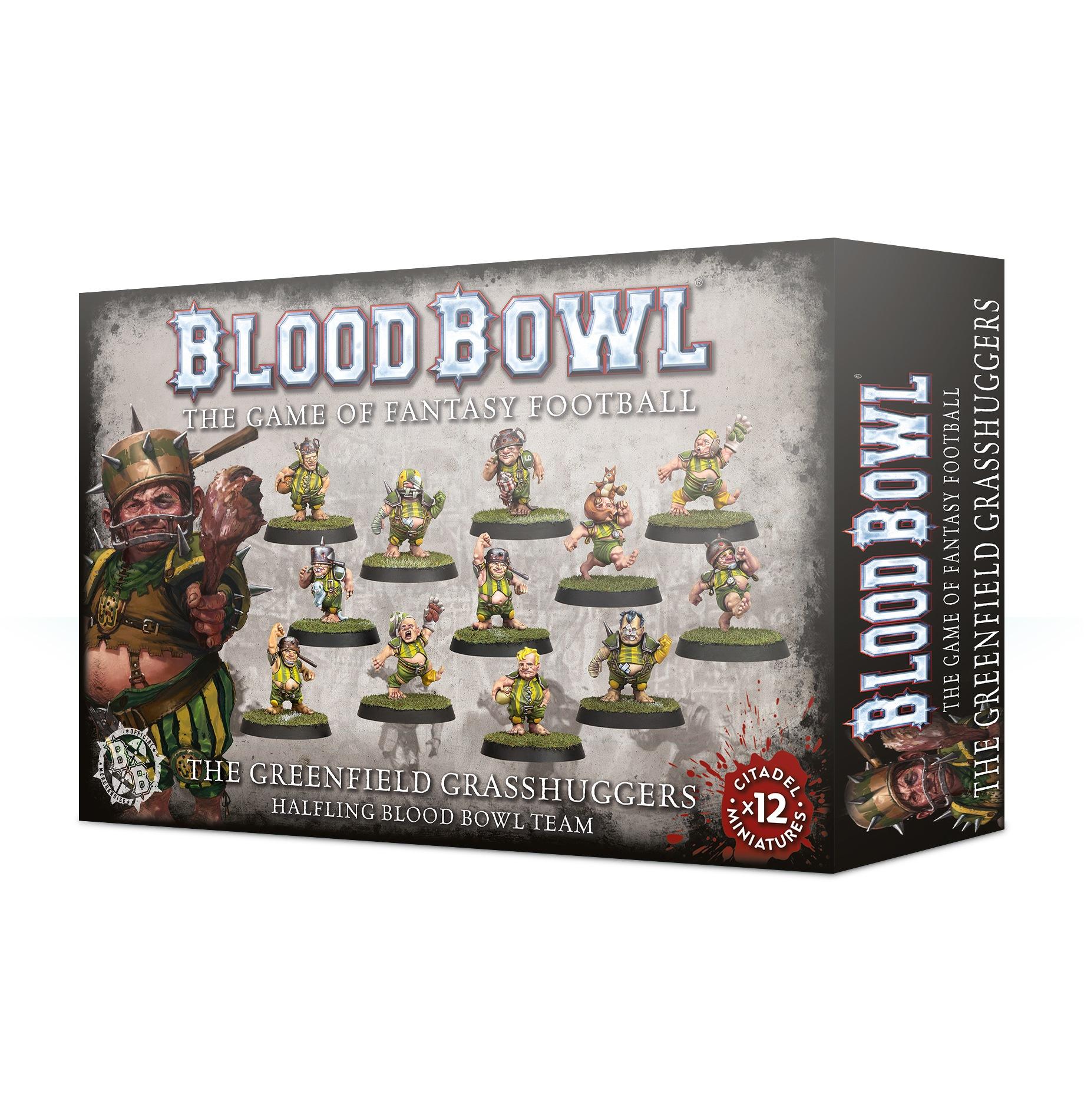 The Greenfield Grasshuggers - Halfling Blood Bowl Team