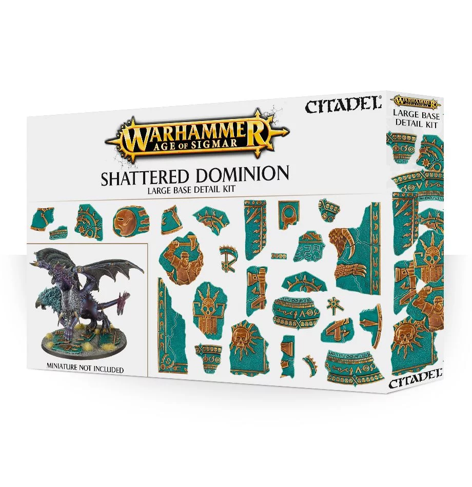 Large Base Detail, Shattered Dominion