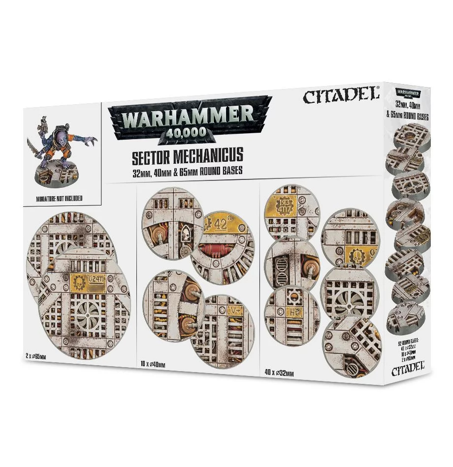 Industrial Bases, Sector Mechanicus