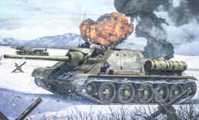 SU-85 / SU-122 SPG, Rubicon Models