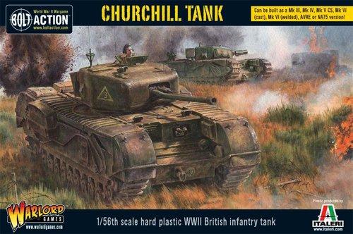 Churchill Tank (Plastic)
