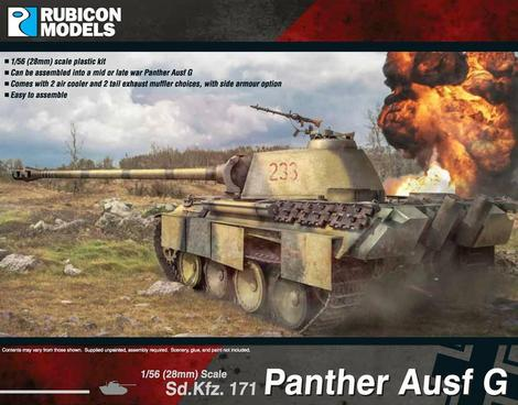 Panther Ausf G, Rubicon Models