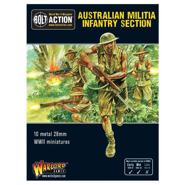 Australian Militia Infantry Section (Pacific)
