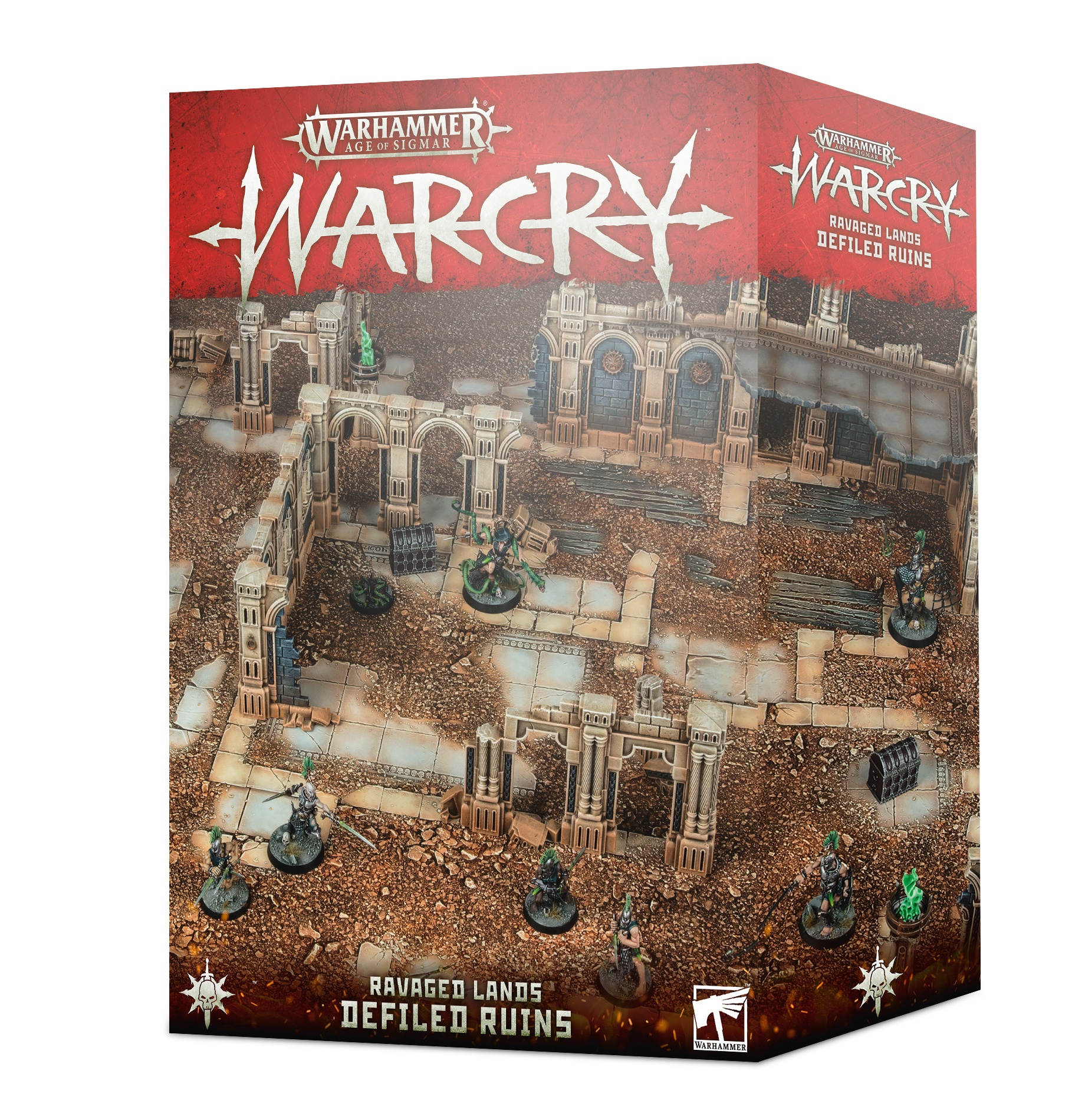 Defiled Ruins, Warcry