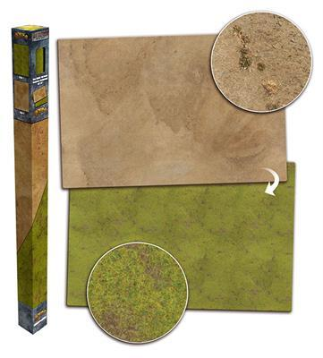 Grassland/Desert Gaming Mat 6ft x 4ft