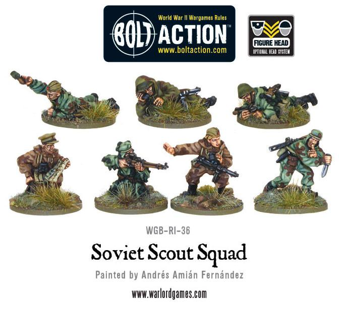 Soviet Army Scouts