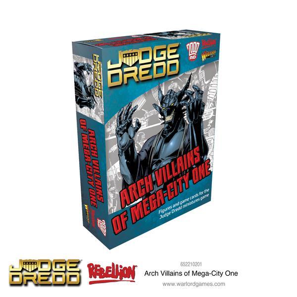 Arch Villains of Mega City 1, Judge Dredd