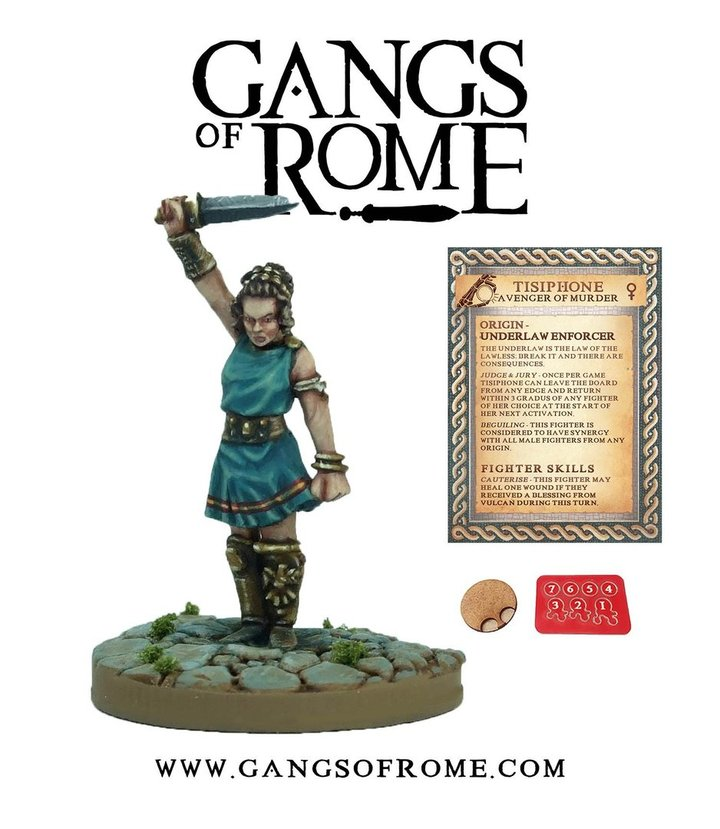 Tisiphone, Gangs of Rome