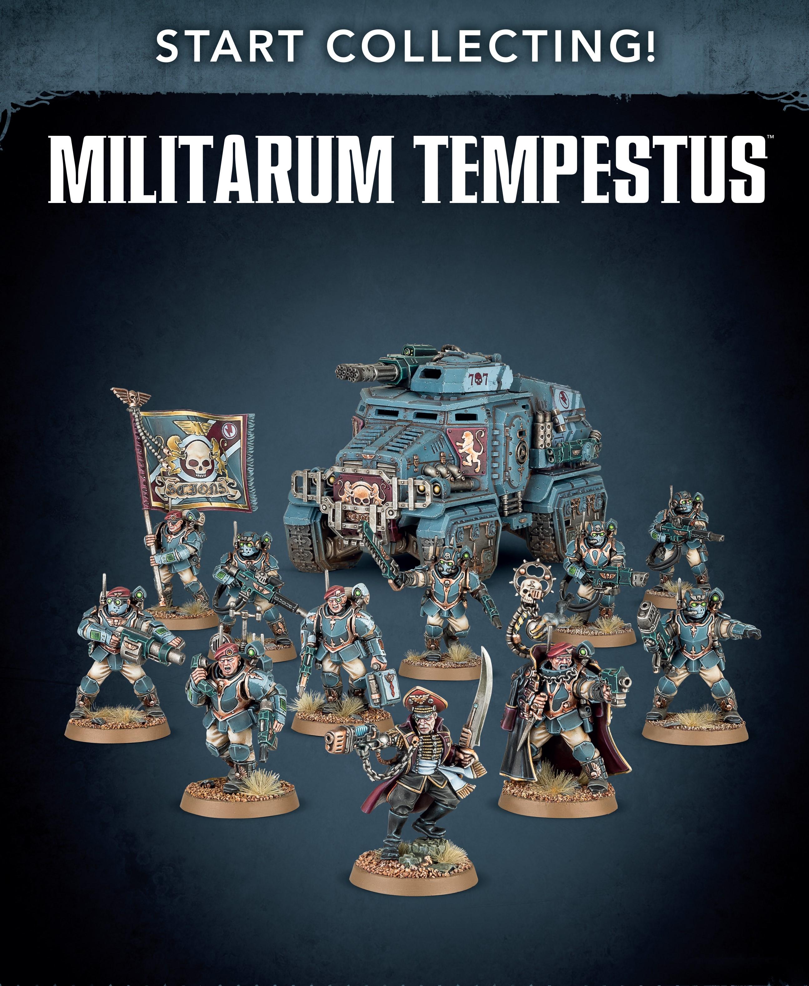Militarum Tempestus, Start Collecting