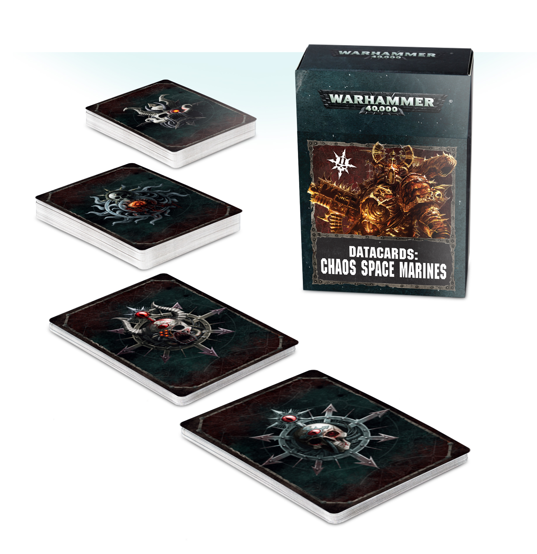 Chaos Space Marines Datacards