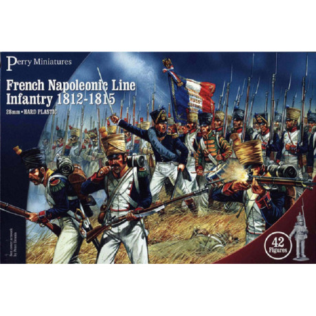 French Line Infantry 1812-1815, Perry Miniatures