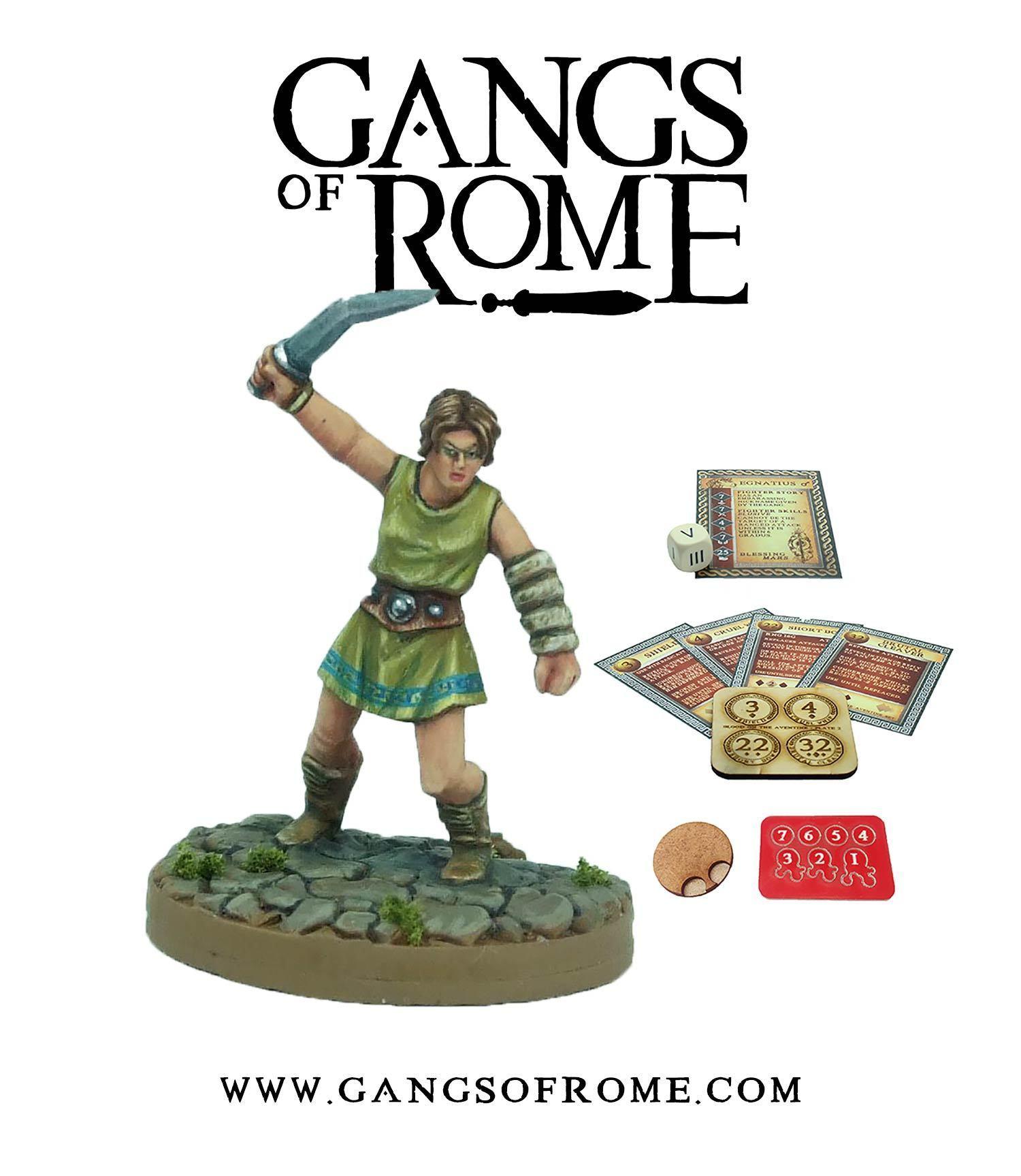 Fighter Sextus, Gangs of Rome