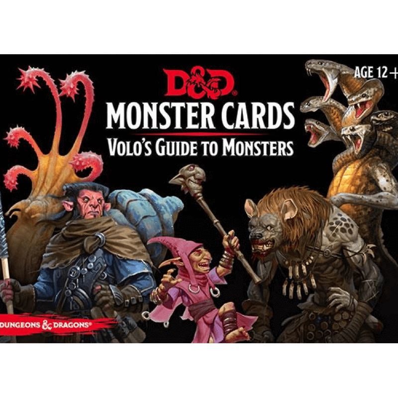 Volo's Guide to Monsters Spellbook Cards