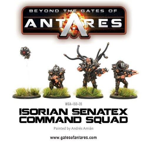 Command Squad, Isorian Senatex
