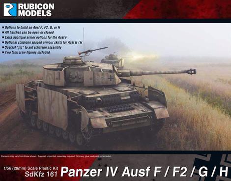 Panzer IV Ausf F/F1/G/H, Rubicon Models