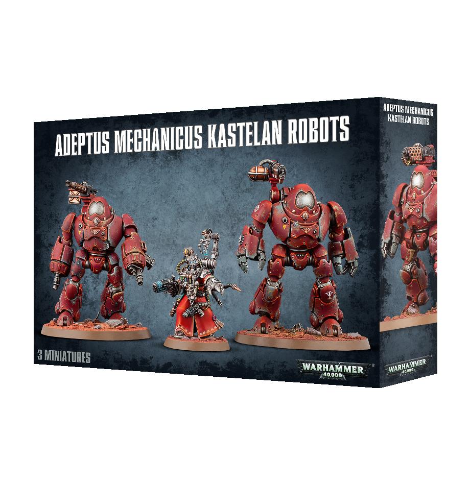 Kastelan Robots, Adeptus Mechanicus