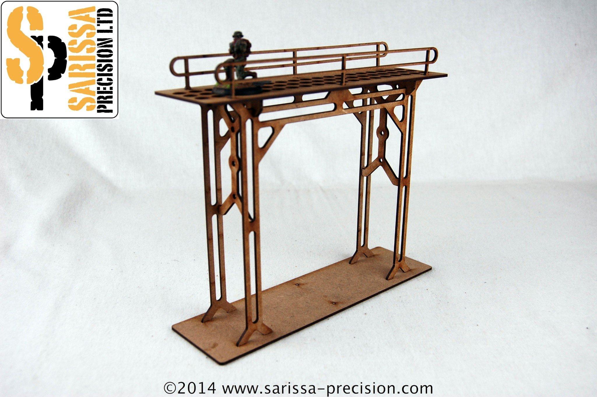 Gantry High Bridge, Sarissa Precision
