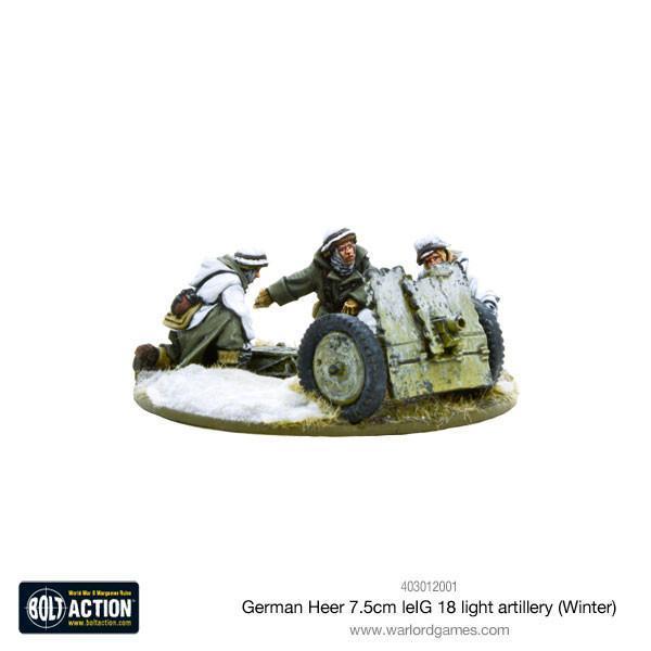 Heer 7.5cm leIG 18 light artillery (Winter)