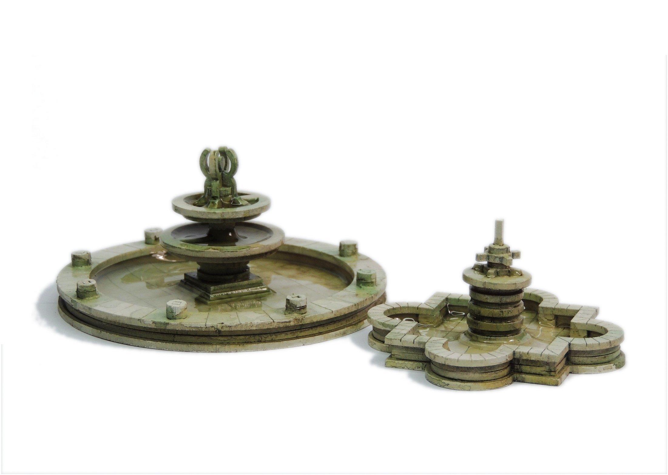 Small Fountain Set, Sarissa Precision