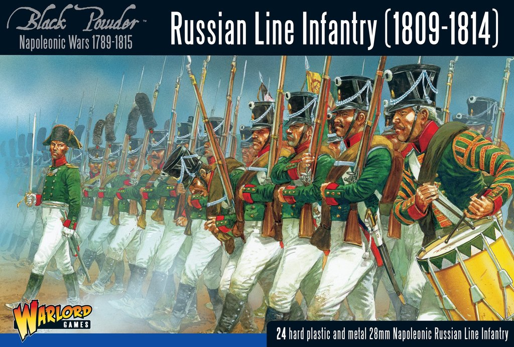 Russian Line Infantry 1809-1814, NW