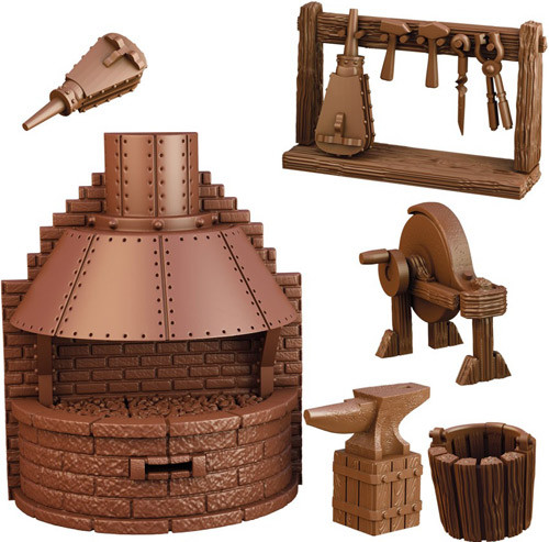 Blacksmith's Forge, Terrain Crate