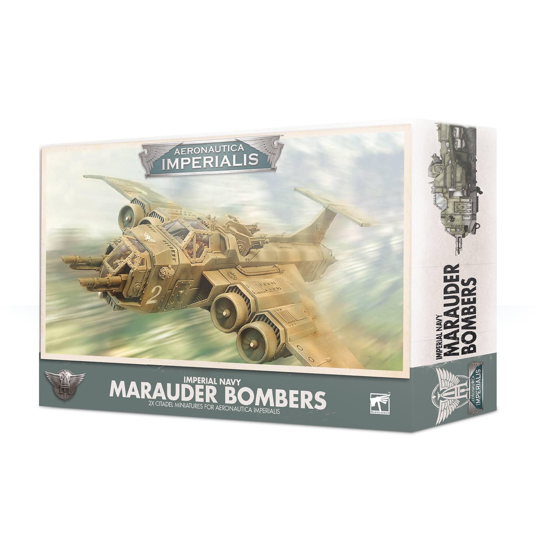 Marauder Bombers, Imperial Navy, Aeronautica Imperialis