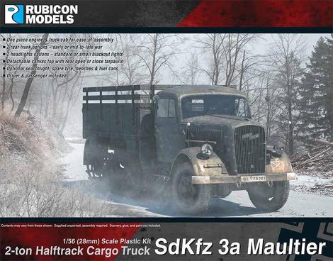 SdKfz 3a Maultier, Rubicon Models