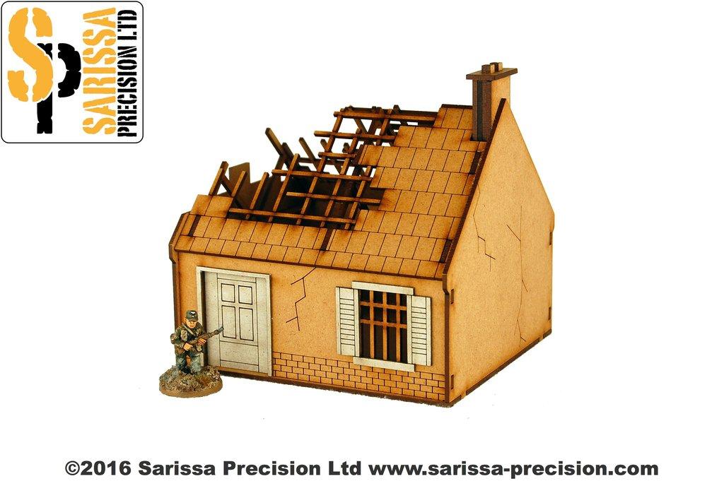 Destroyed Single Storey House, Sarissa Precision